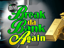 Онлайн-аппарат Mega Spins Break Da Bank: новинка от Микрогейминг